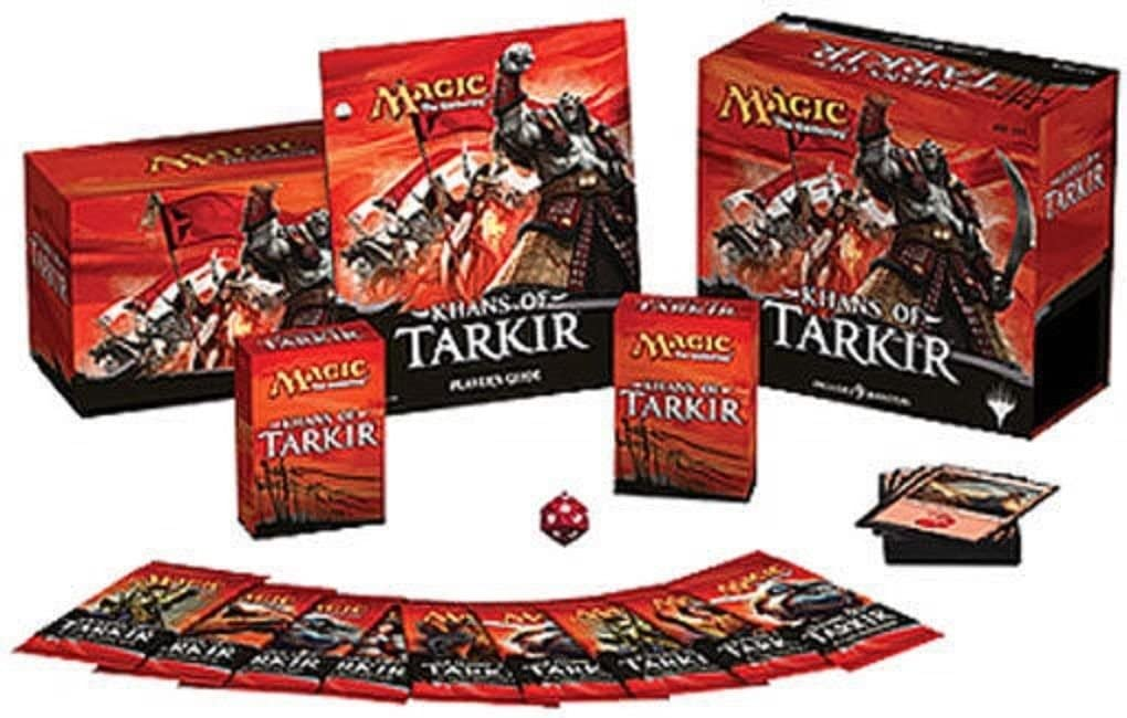 Magic The Gathering Khans of Tarkir Fat Pack: Amazon.es: Juguetes y juegos