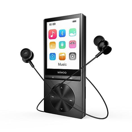 MP3 Player Bluetooth 16 GB Mit Kopfhorer Sport 24 TFT Bildschirm Radio Sprachaufzeichnung Und Armband
