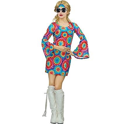 Sea Hare Señoras 60s 70s traje de lujo del traje del hippie ...