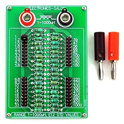 Electronics-Salon 1uH to 1000uH E12 Standard 37 Values Programmable Inductor Board.: Industrial & Scientific