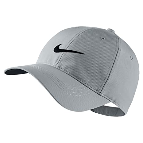 f1bc233f8296d Amazon.com   Nike Mens Golf Legacy91 Tech Adjustable Hat Wolf Grey Black  727042-012   Sports   Outdoors