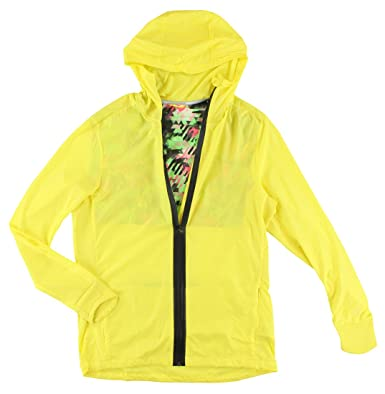 f8609a5885bb adidas Mens Climaproof Wind Ultra Light Jacket Yellow at Amazon Men s  Clothing store