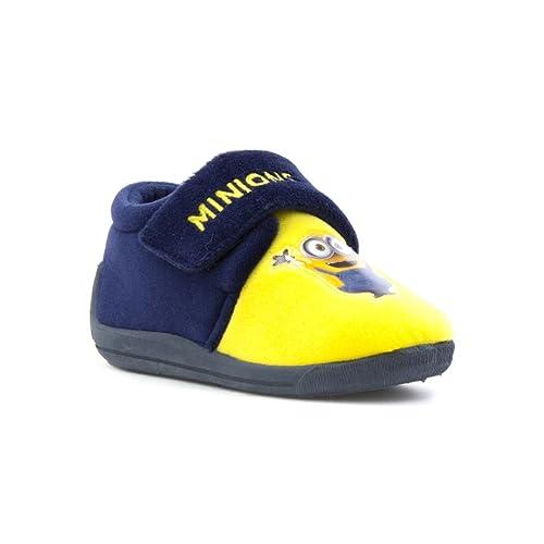 MINIONS - Zapatillas de Estar por casa de Material Sintético para niño, Color, Talla 30 EU: Amazon.es: Zapatos y complementos