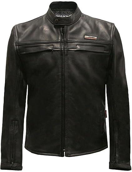 3fb186a01 Skintan Childrens Kids Leather Motorcycle Biker Jacket Black  Amazon ...