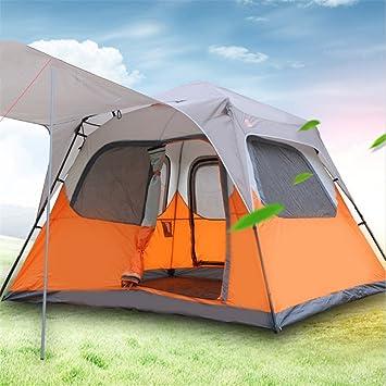 YuFLangel Tienda de campaña actividades al aire libre, automático, grande, multifuncional, doble familia, camping, tienda de campaña: Amazon.es: Deportes y aire libre