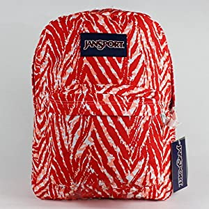 JanSport Backpack - SuperBreak Coral Zebra /
