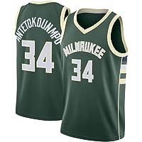 Giannis Antetokounmpo 34# Baloncesto Jersey, Nueva Uniforme Temporada