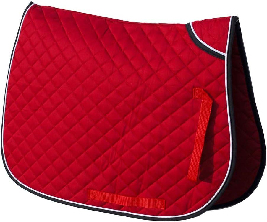 Rhinegold Twin Bound Saddle Cloth