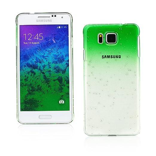 4 opinioni per Kit Me Out IT Custodia a clip Plastica per Samsung Galaxy Alpha G850F- Verde /