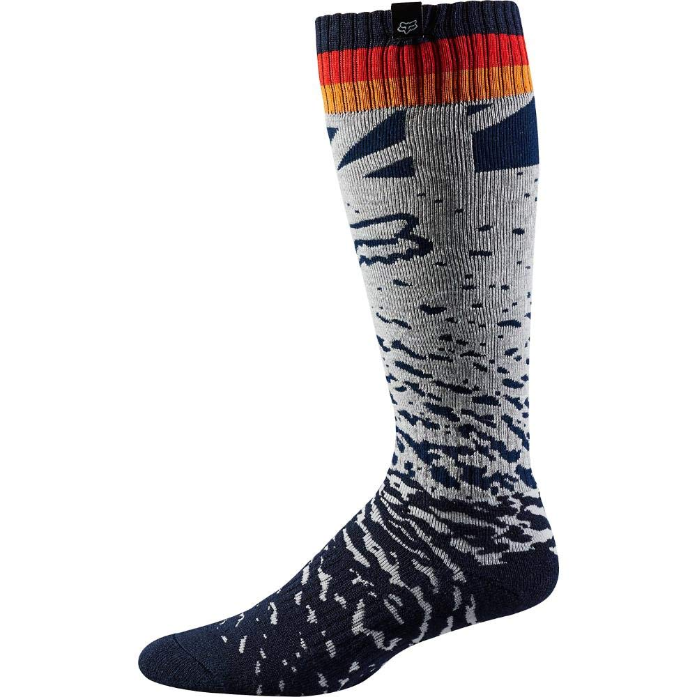 2018 Fox Racing Womens MX Socks-Grey/Orange 20027-230-OS
