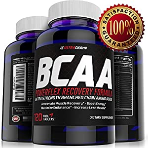 Ultrachamp BCAA Powerflex Recovery Formula - Extra Strength Branched Chain Amino Acids