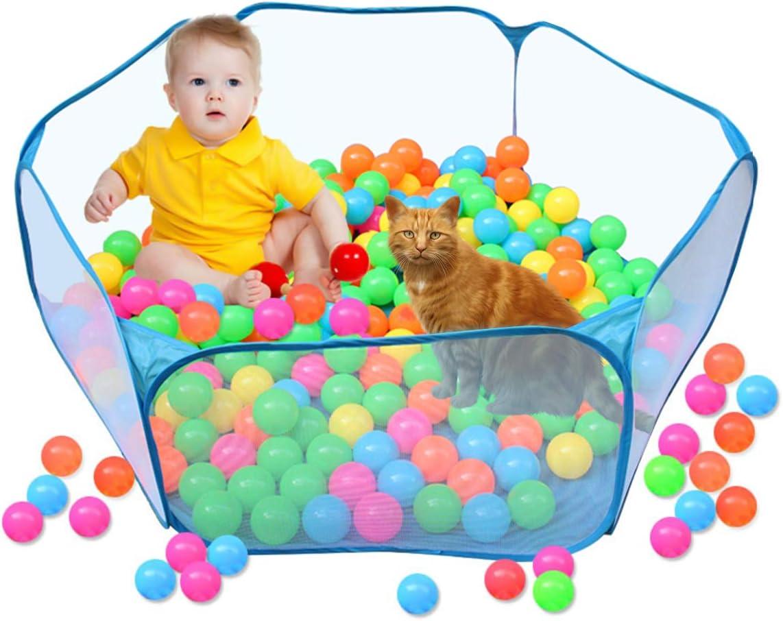 h/ámsters Color Azul Fsskgxx Tienda de campa/ña para Mascotas peque/ñas chinchetas y erizos Parque port/átil Abierto para Refugio para Mascotas para Conejos