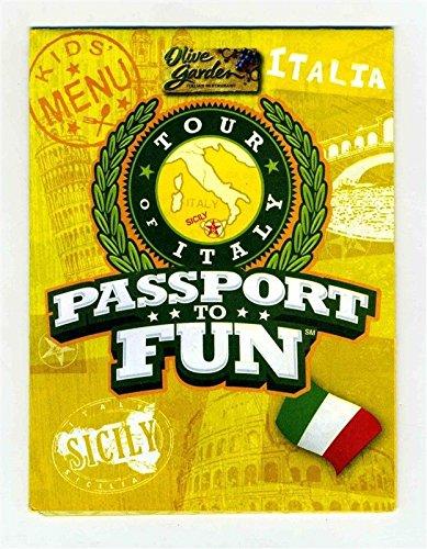 the olive garden italian restaurant passport to fun kids menu activity games - Olive Garden Kids Menu