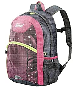 Amazon.com: Coleman Youth 16 Hiking Backpack 20L, Pink/Grey with ...