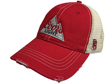 a668b10dedd46 Image Unavailable. Image not available for. Color  Coors Light Brewing  Company Retro Brand Vintage Mesh Beer Adjustable Hat Cap