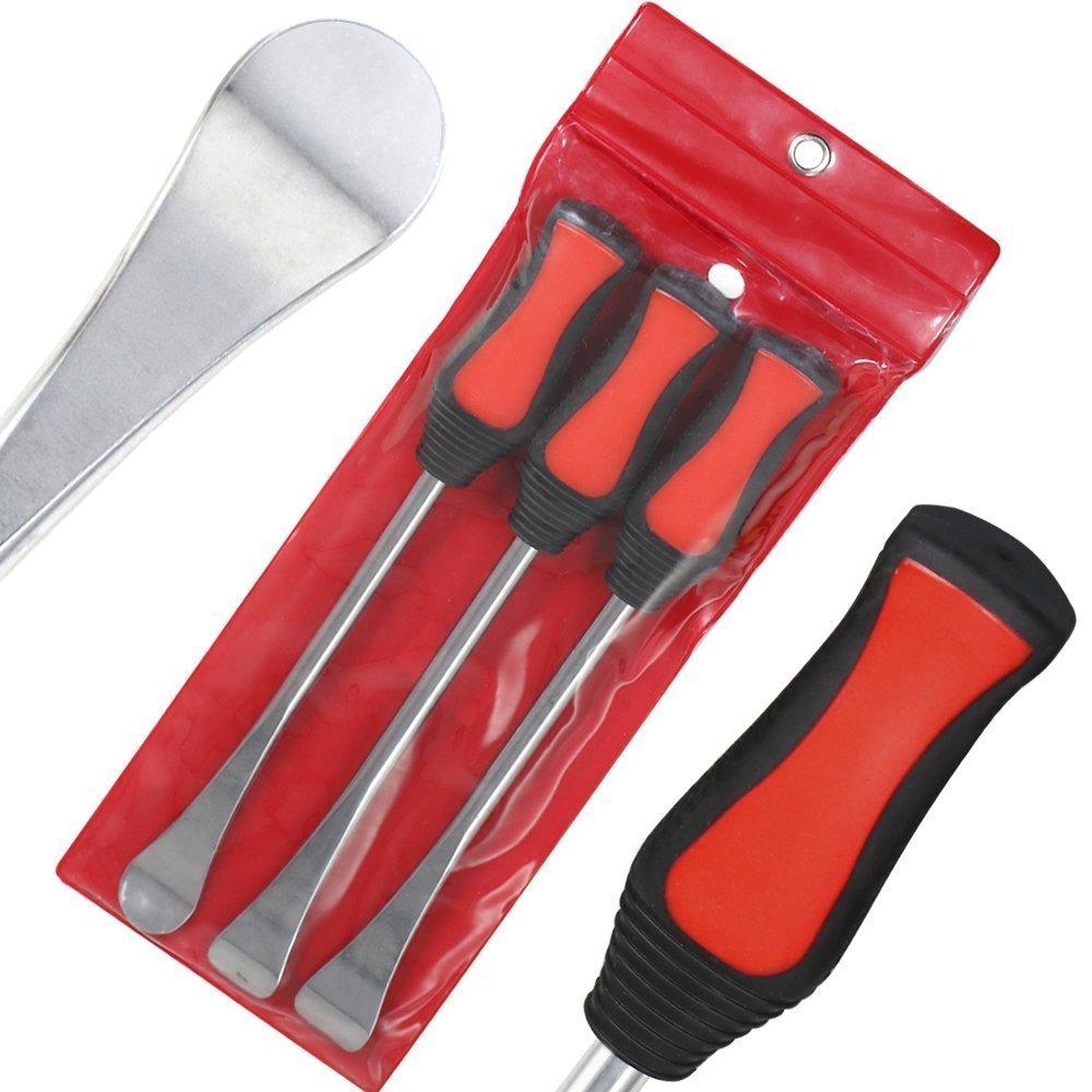 YOUTOO 2/protezioni per cerchioni con busta kit con chiavi per montare le gomme 3 pezzi leve di sollevamento pneumatici