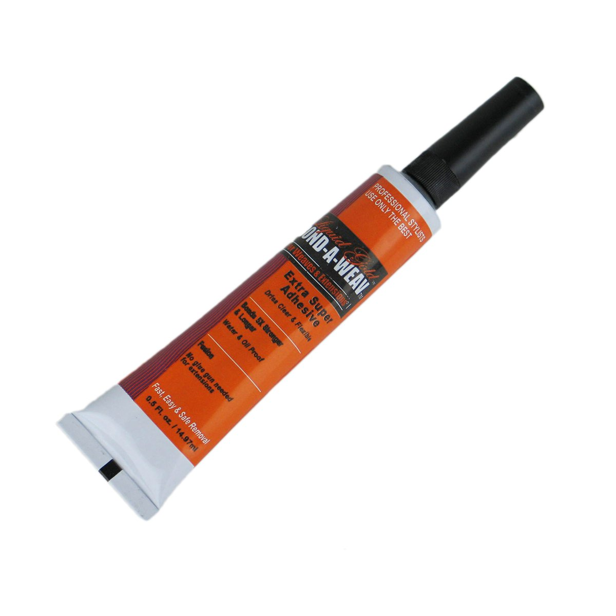 Liquid Gold Bond A Weav Extra Super Adhesive 1 oz Tube for Weaves and Hair Extensions by Liquid Gold 34604