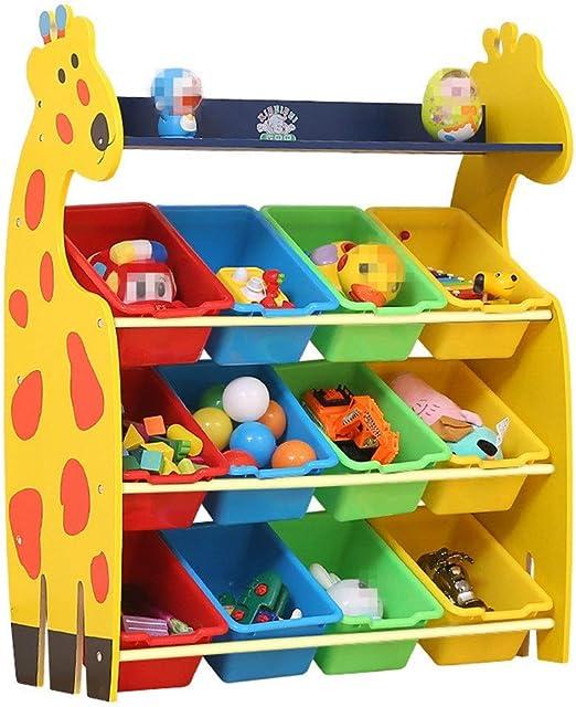 Caja de almacenamiento de juguetes para niños Rack de ...