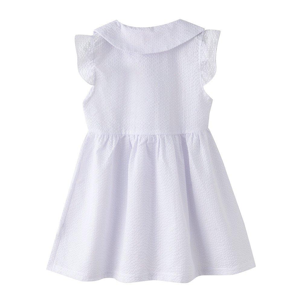 Feixiang Black Five Cyber Monday Vestido de niña Bebé recién ...