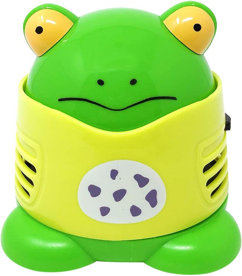 Allydrew Cute Portable Mini Vacuum Cleaner for Home and Office, Frog