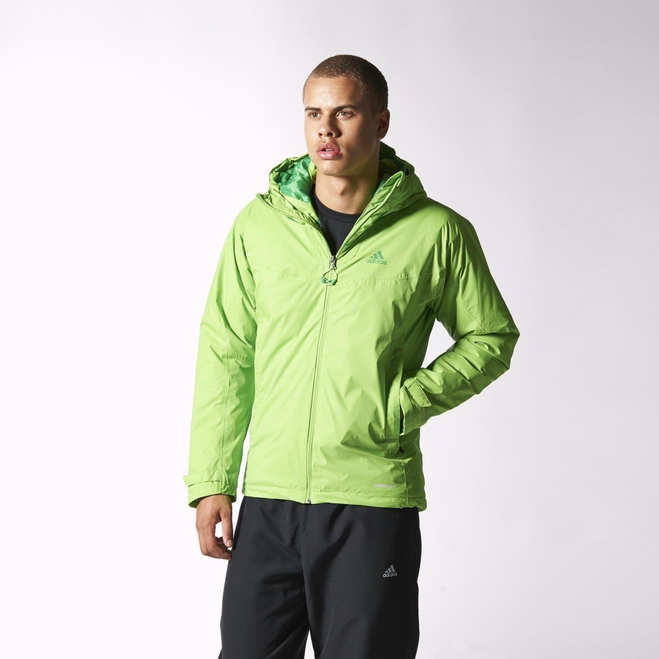 adidas Terrex Swift Padded 3 in 1 Climaproof Storm Jacket ...