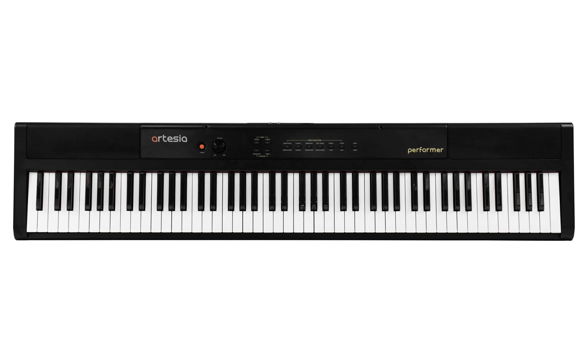 Artesia 88-Key Portable Keyboard Single Performer by Artesia