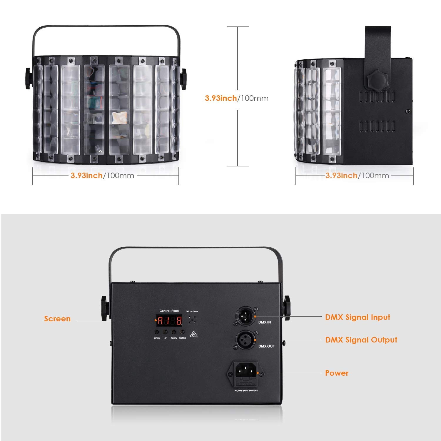 Dmx 512 Strobe Flash Light 1500w Strobe Light 220-240v Strobe Light Back To Search Resultslights & Lighting