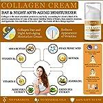 Kayos Collagen Day Night Anti Aging Moisturizing Cream With Retinol, Aloe Vera & Green Tea Extracts, Vitamin B5, Vitamin…