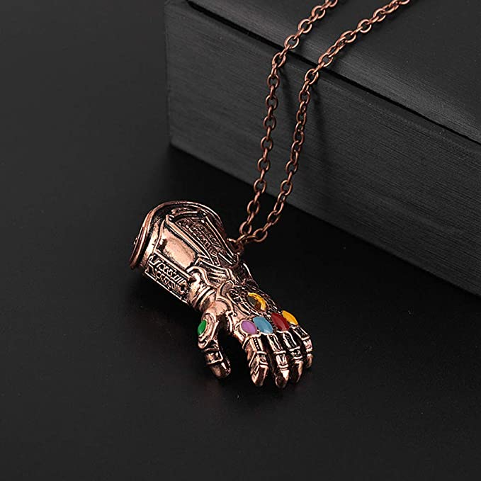 CARDMOE - Juego de Collar y Llavero con réplica del símbolo ...