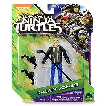 TORTUGAS NINJA - Figura - Casey Jones: Amazon.es: Juguetes y ...