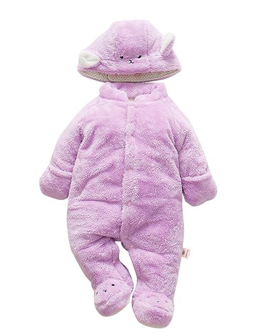 Muchachos Animal Bebé Unisex - Nacido Infantil Animales Buzos Manga Larga  Monos para Chicas Chicos Púrpura 2 100  Amazon.es  Ropa y accesorios 0526486faaf