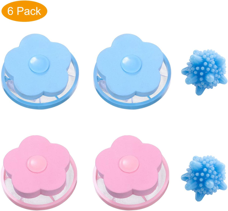 Bolsa de malla flotante reutilizable para filtro de lavadora, para ...