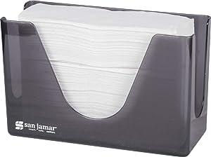 San Jamar T1720TBK Countertop Towel Dispenser, Black Pearl