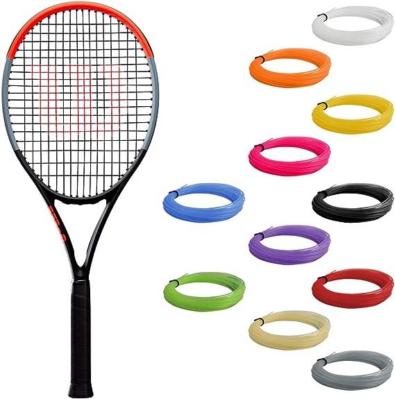 Colcolo 20 St/ück Elastic Tennis Racquet Grip Silikongriff Fix /& 4 Color