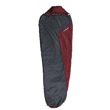 10T Hatfield 800 Saco de Dormir de la Momia, Unisex, Gris, Estándar