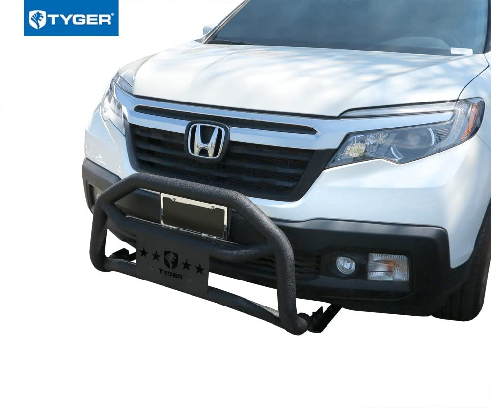 BETTER AUTOMOTIVE Custom Fit 2017-2019 Honda Ridgeline Grill Guard Black