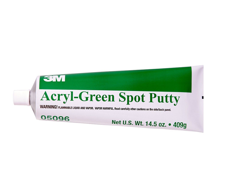 3M Green Acryl Spot Putty 409g Tube 05096 Stopper Body Filler Professional Automotive Bodyfiller Car Van Bike