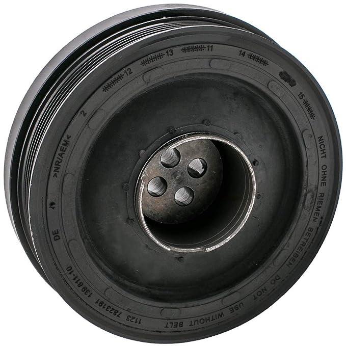 maXpeedingrods Crank shaft pulley for Series 1 3 5 Touring X1 X3 E90 2.0 Diesel 90kW 116D 118D 120D 316D 318D 320D 520D: Amazon.es: Coche y moto
