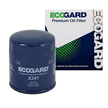 Amazon.com: ECOGARD X241 Spin-On Engine Oil Filter for Conventional ...