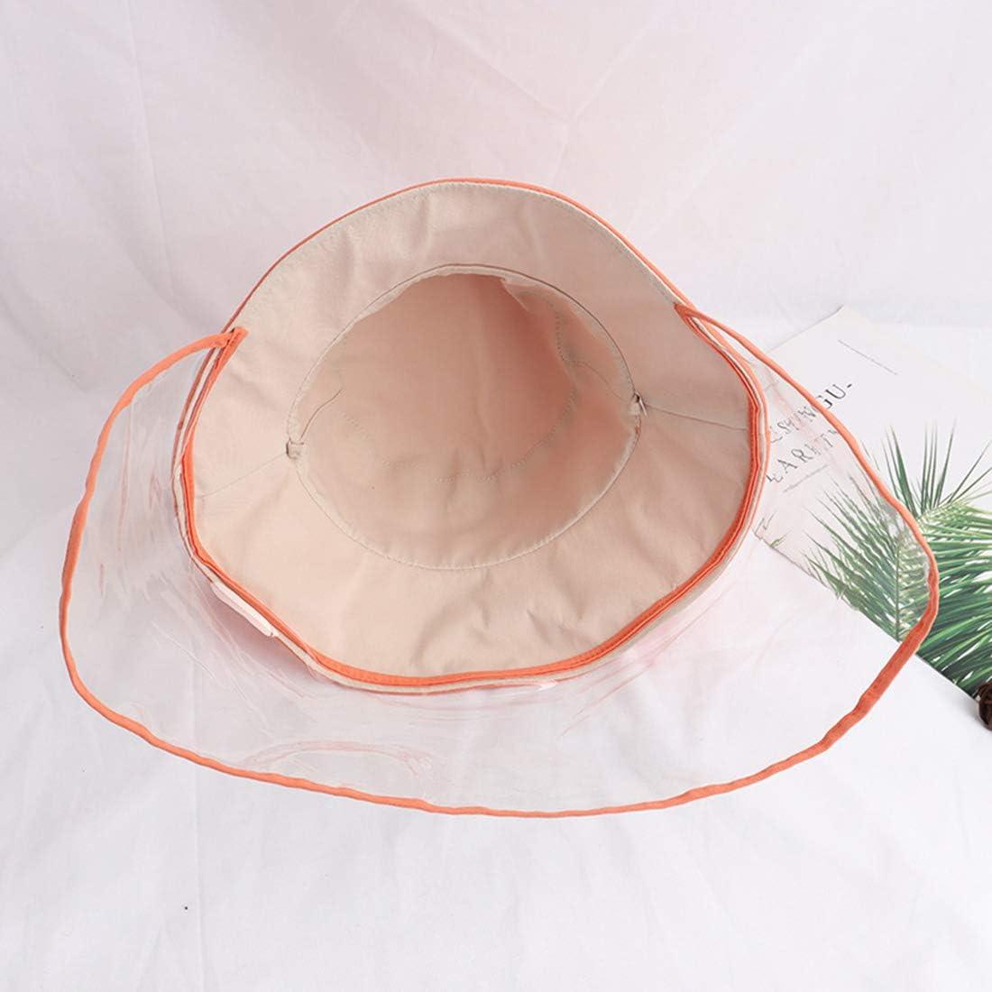 Bverionant Sombrero Protector de Pescador Sombrero de Protecci/ón para Ni/ño Antisalpicadura Gorro con Pantalla Sombrero de Sol con Visera Protectora