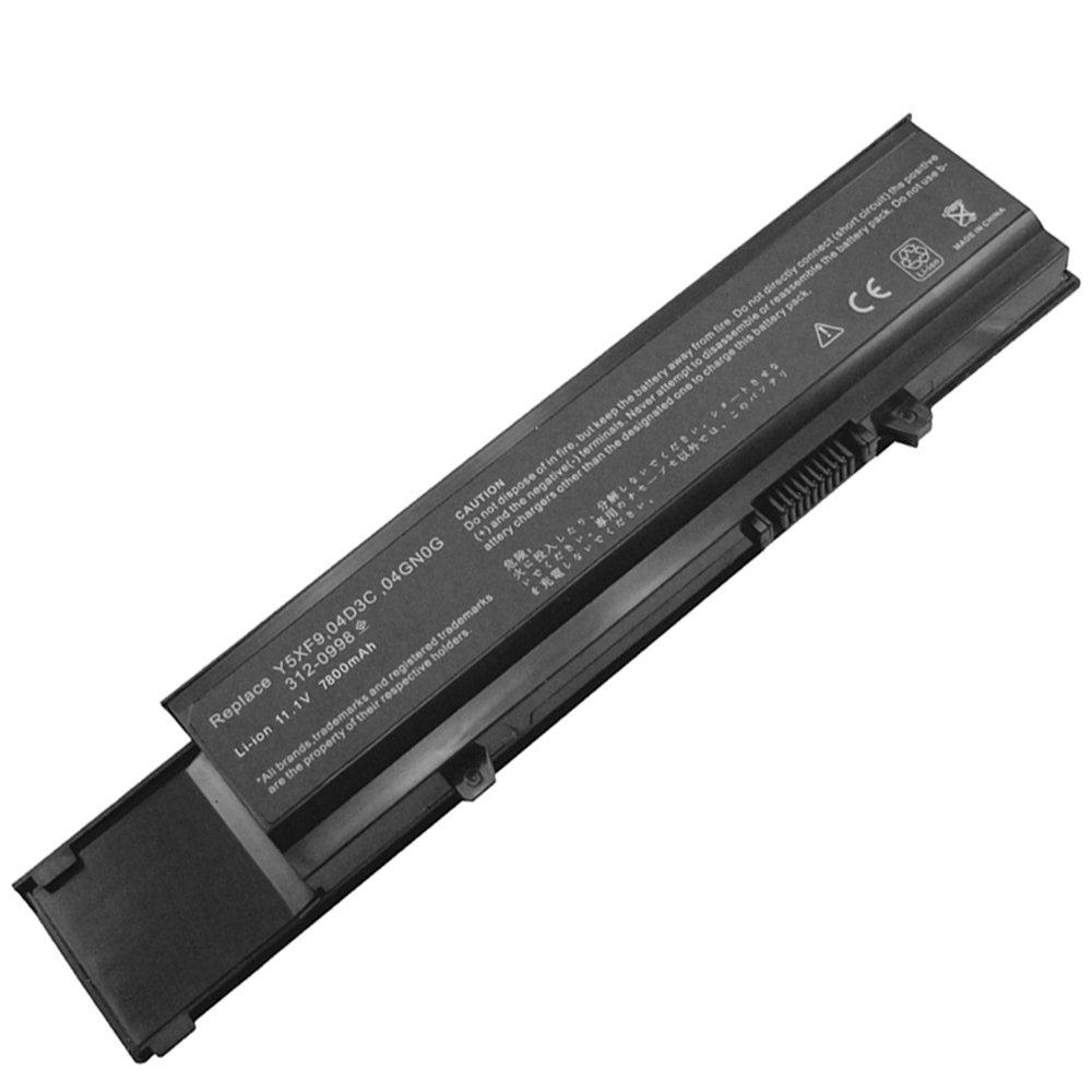 Bateria 9 Celdas 11.1v 7800mah Para Dell: Vostro 3400 Vostro 3500 Vostro 3700 V3400 V3500 V3700 004gn0g 04d3c 312-0998 4