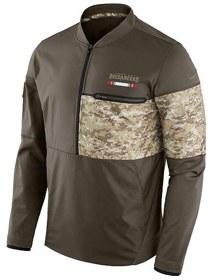 c80d80ab5 Tampa Bay Buccaneers NFL Salute to Service Sideline Men s Hybrid Jacket  (Large)