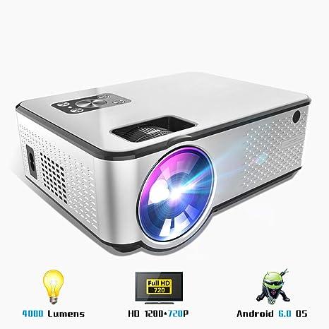 4000 Lúmenes Mini Proyector, Proyector De Android 1280 * 720P ...