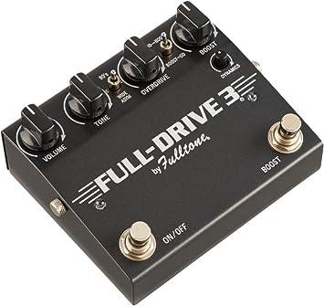 Fulltone Fulldrive 3 Standard · Pedal guitarra eléctrica