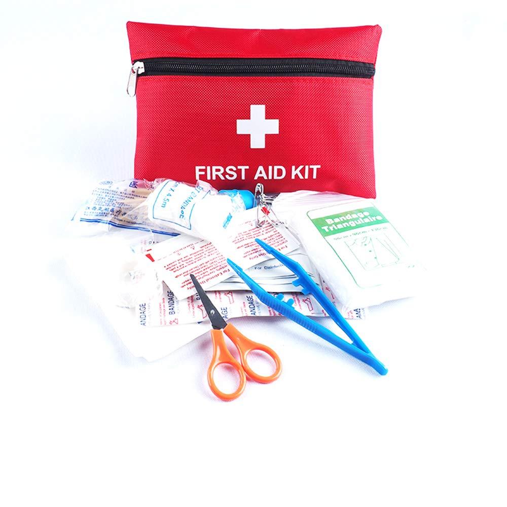 Ogquaton Kit di Primo Soccorso: Compatto per Emergenza a casa, all'aperto, Auto, Campeggio, Luogo di Lavoro, Escursionismo e Sopravvivenza. all' aperto