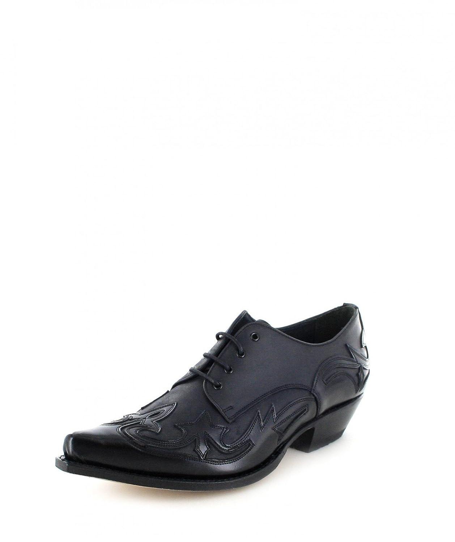 Sendra Boots Western Zapatos 10066 con cordones 42 EU|negro