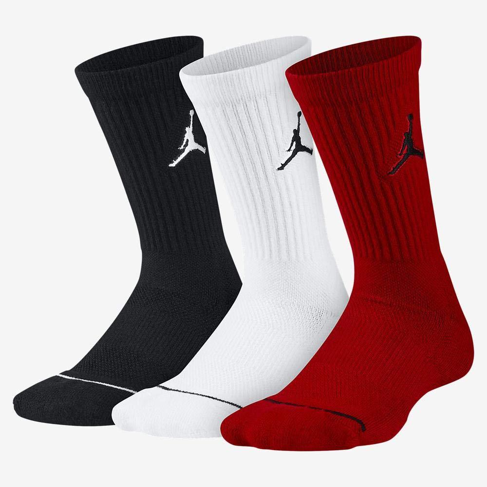 Nike Jumpman Crew 3ppk Calcetines Línea Michael Jordan, Hombre ...