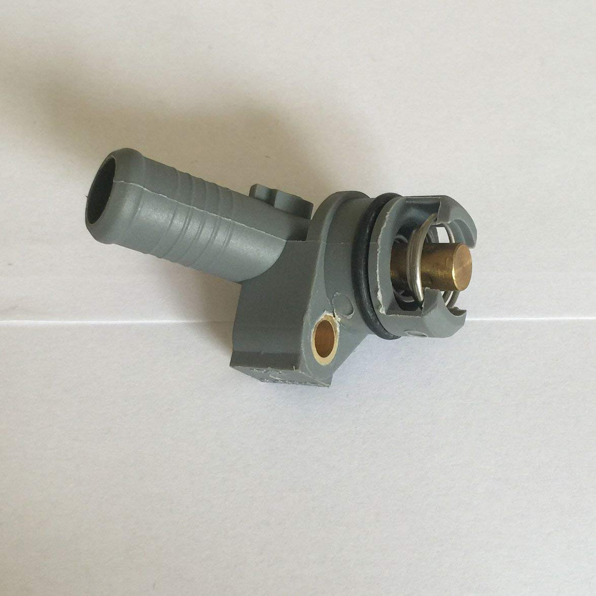 Kongqiabona para Ford Mondeo Mk3 2.0 2.2 Tdci Tddi Refrigerador Termostato Cubierta 6C1Q6L635-Ab Ob1 para Ford Mondeo Mk3 2.0 y 2.2 Tddi//Tdci 16V