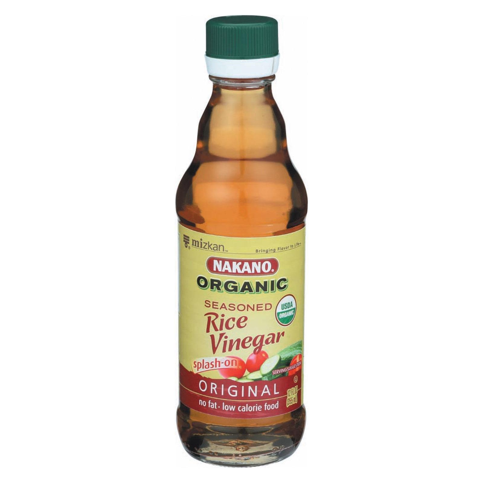 Nakano Vinegar Rice Seasoned Organic, 12 oz
