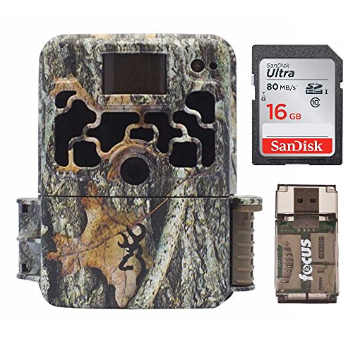 Browning Dark OPS HD 940 Micro Trail Game Camera (16MP) | BTC6HD940 with 16GB Card and Memory Card Reader